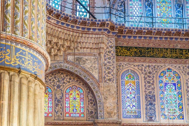 Istanbuł błękita meczet fotografia stock