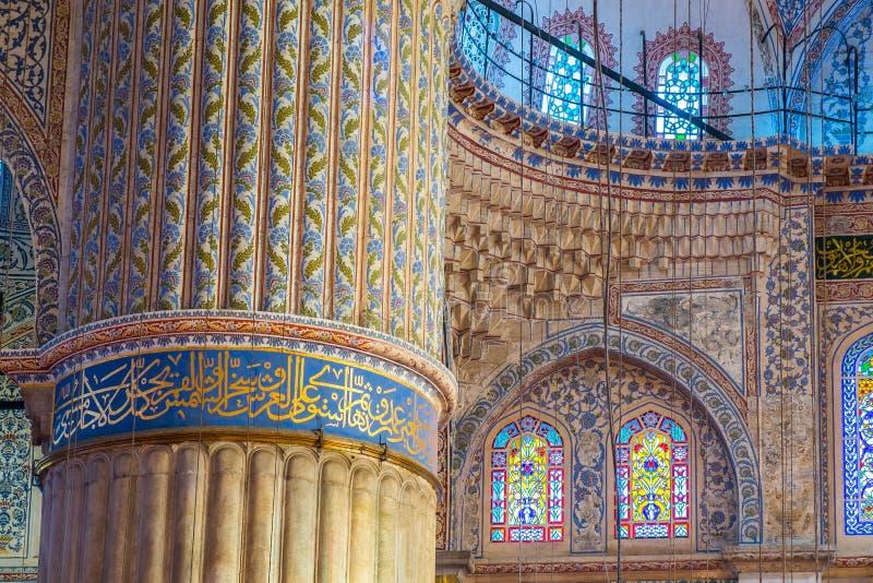 Istanbuł błękita meczet zdjęcia stock