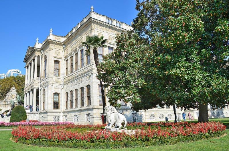 Istanbuł, Turcja, Październik, 19, 2013 dolmabahce Istanbul pałacu obrazy stock