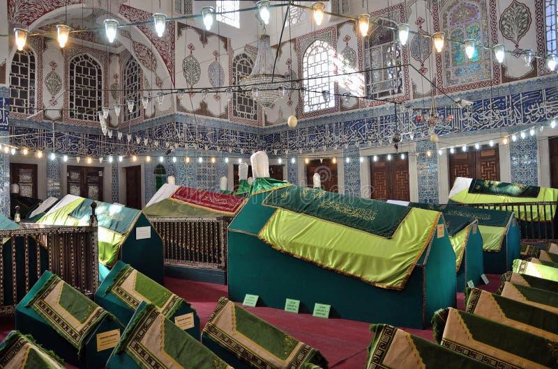 Istanbuł, Turcja, Październik, 19, 2013 Nowy meczet (Yeni tzami) zdjęcie royalty free