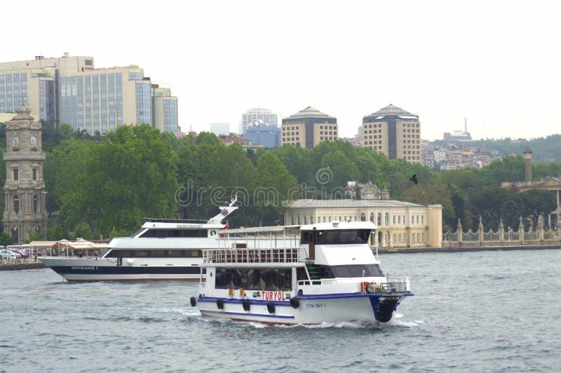 Istanbuł widok od Bosphorus fotografia royalty free