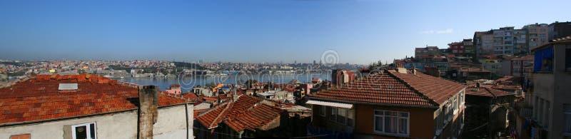 istanbul панорамный стоковое фото rf
