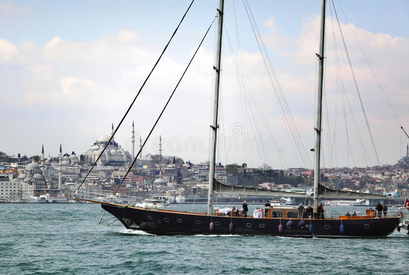 Download Istanbul stock image. Image of monument, yacht, boat - 13847523