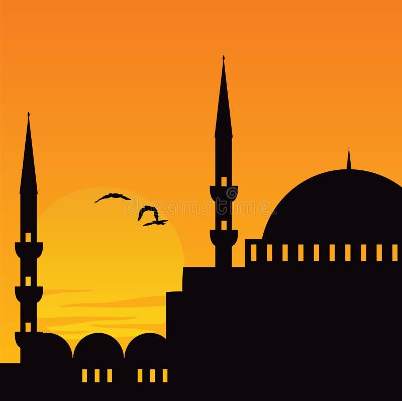 istanbul royaltyfri illustrationer