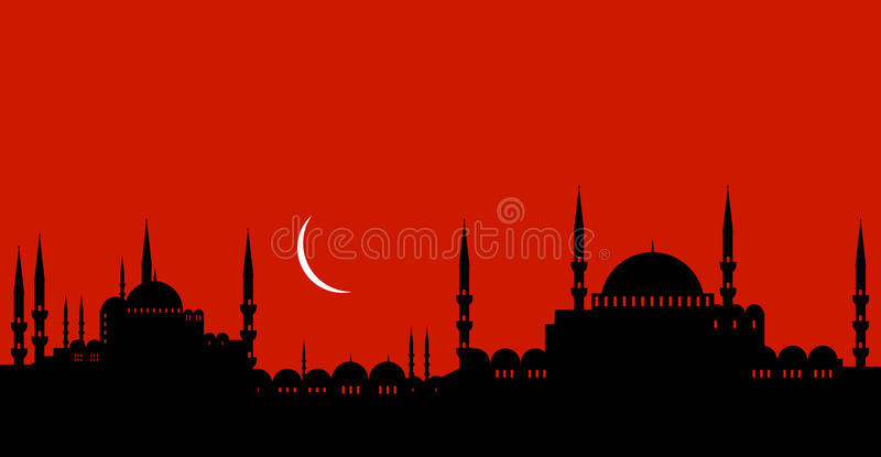 Download Istanbul stock vector. Illustration of religion, exterior - 20529432