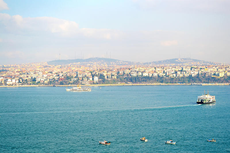 Download Istanbul stock image. Image of historic, city, anchored - 22791631