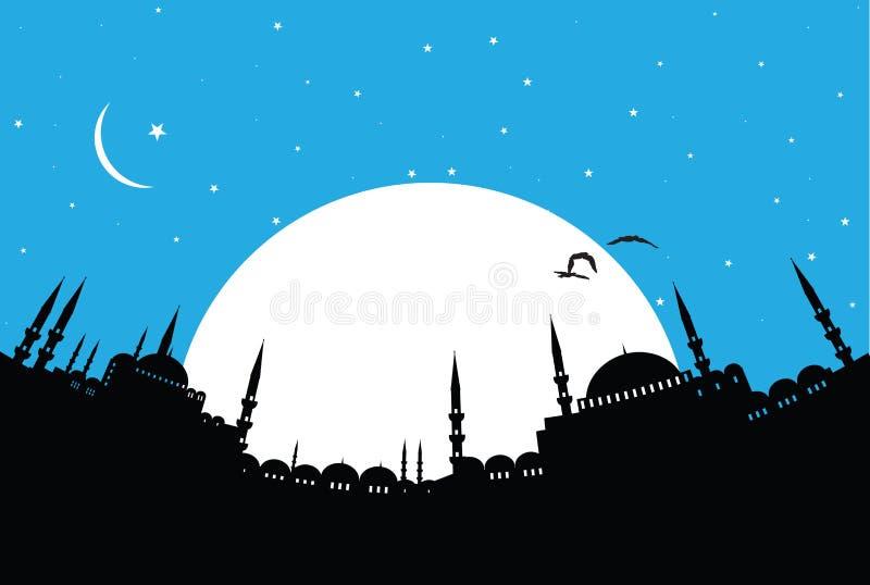 Istanbul vektor illustrationer