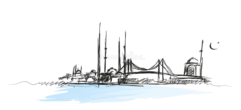 Istanbul vektor abbildung