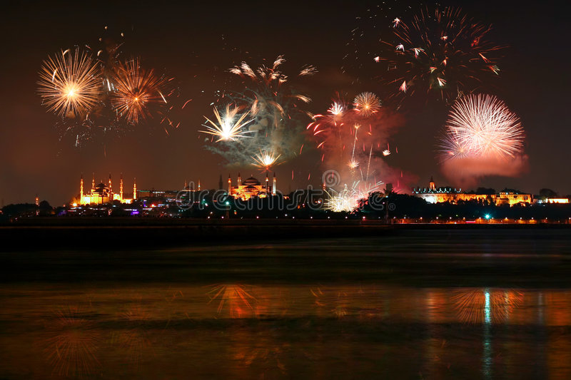 Download Istanbul stock image. Image of anniversary, festival, building - 7605245