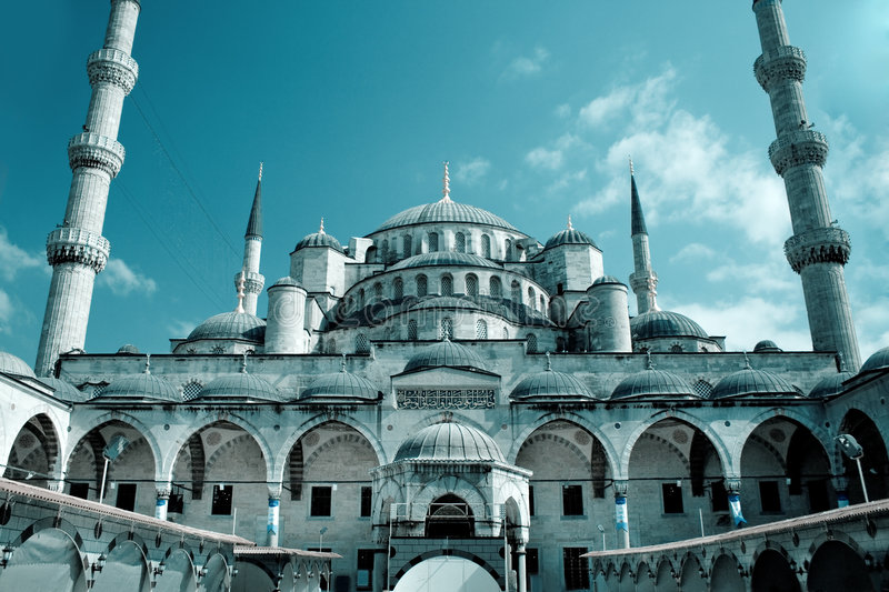 Istanbul - Blue Mosque stock image