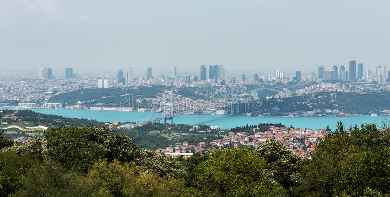 Download Istanbul Bosphorus stockbild. Bild von sophia, moschee - 96933607