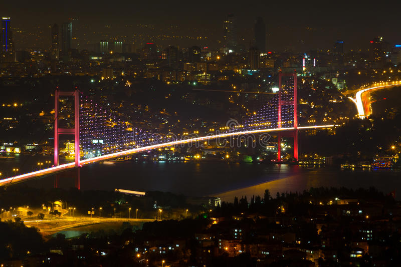 Istanbul Bosphorus Bridge stock photo