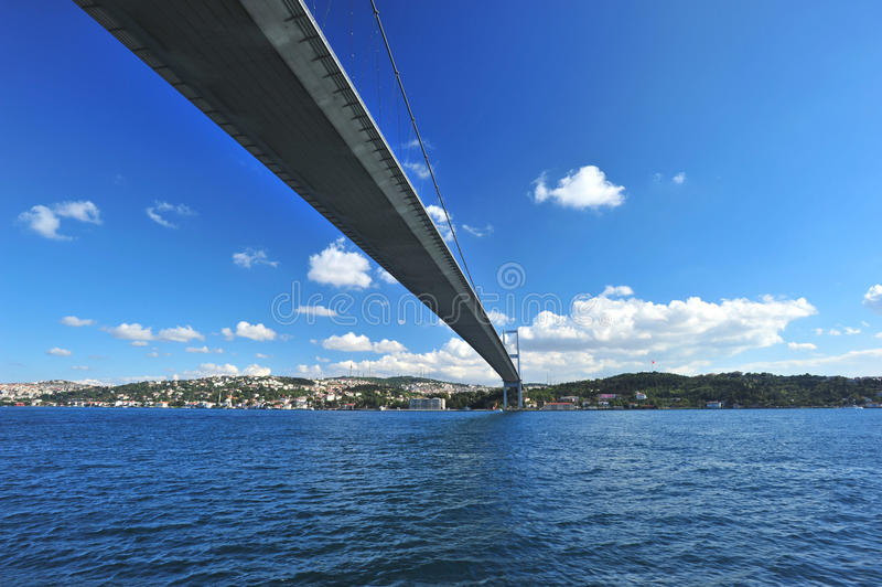 Istanbul Bosphorus Bridge royalty free stock images