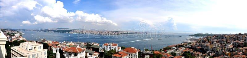 Istanbul Bosphorus die Türkei stockfotos