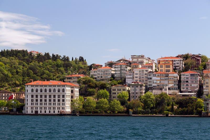 Istanbul Bosporus, die Türkei stockbild