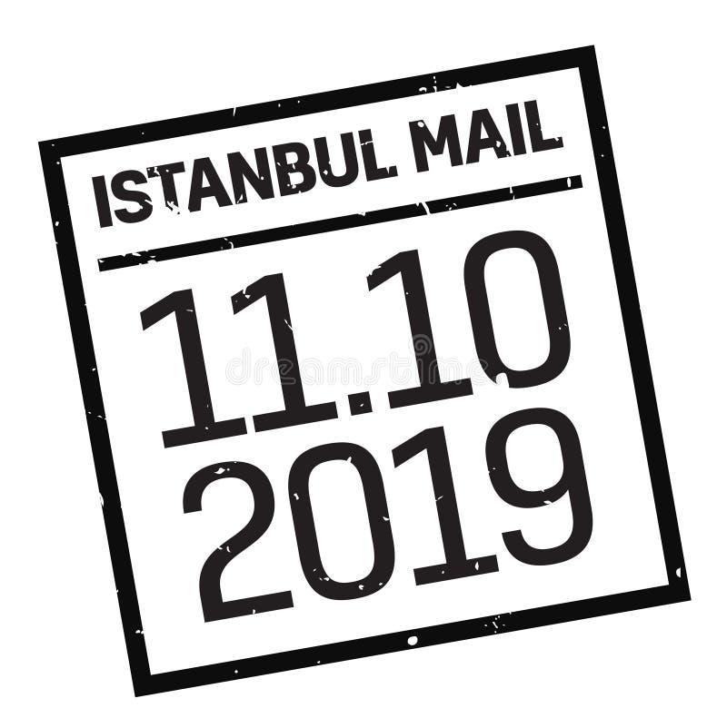 Istanbul-Briefmarke lizenzfreie abbildung