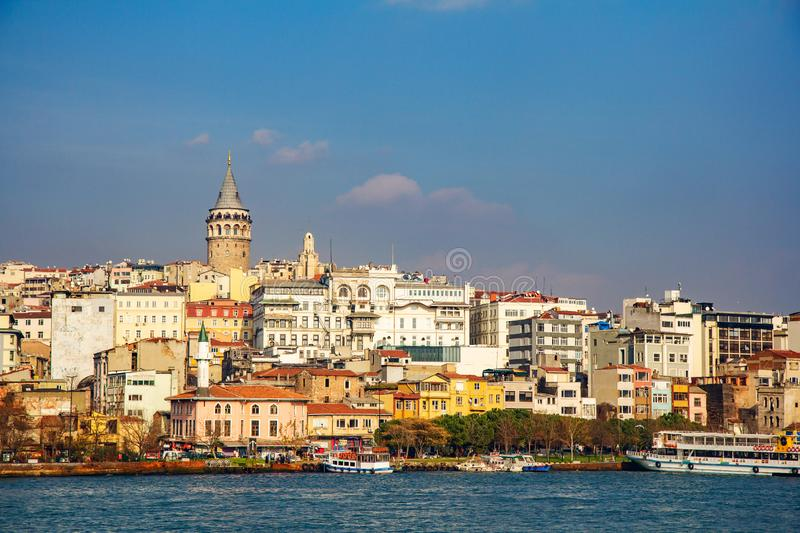 Istanbul the capital of Turkey.  stock photo