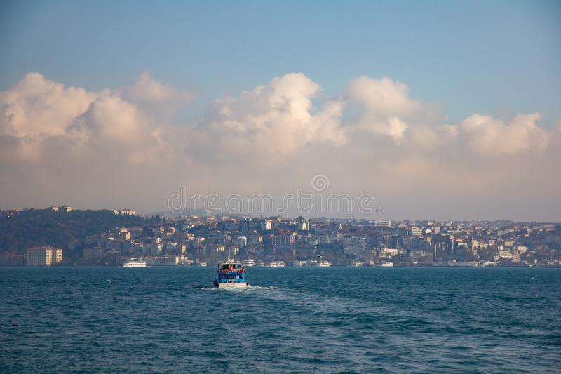 Istanbul the capital of Turkey.  stock photography