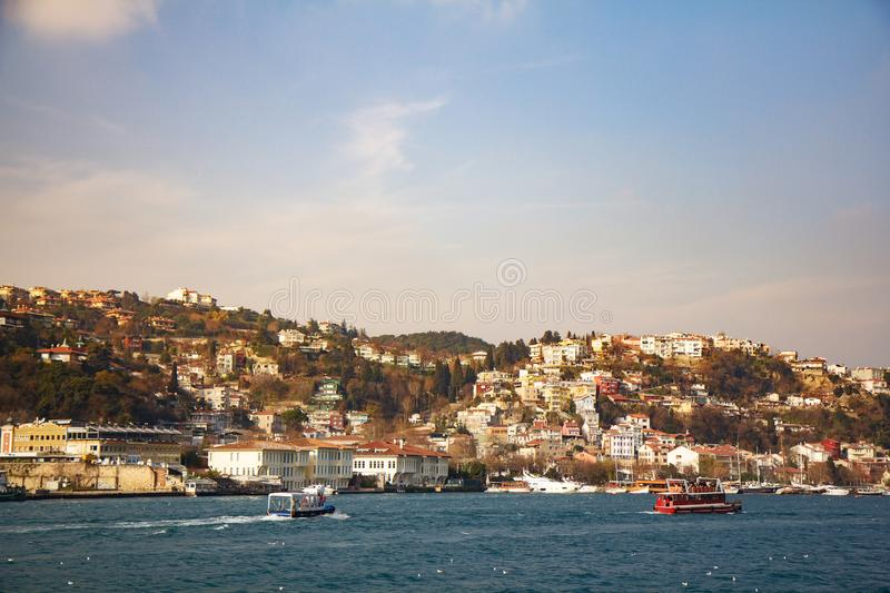Istanbul the capital of Turkey.  stock photos
