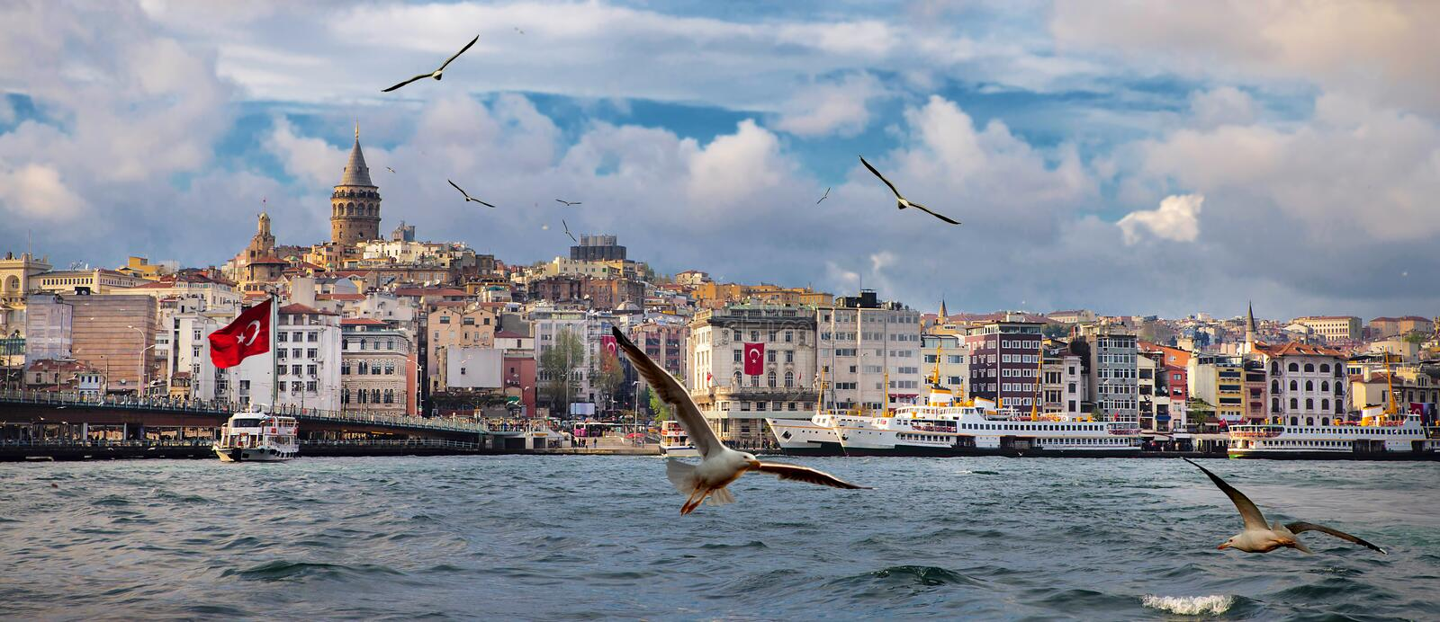 Istanbul the capital of Turkey. Eastern tourist city royalty free stock image