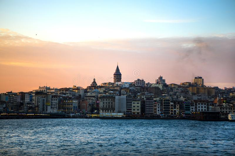 Istanbul the capital of Turkey, eastern tourist city. 17/07/2019 royalty free stock photos