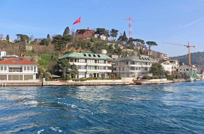 Istanbul Coast, Asian side, Turkey stock photo