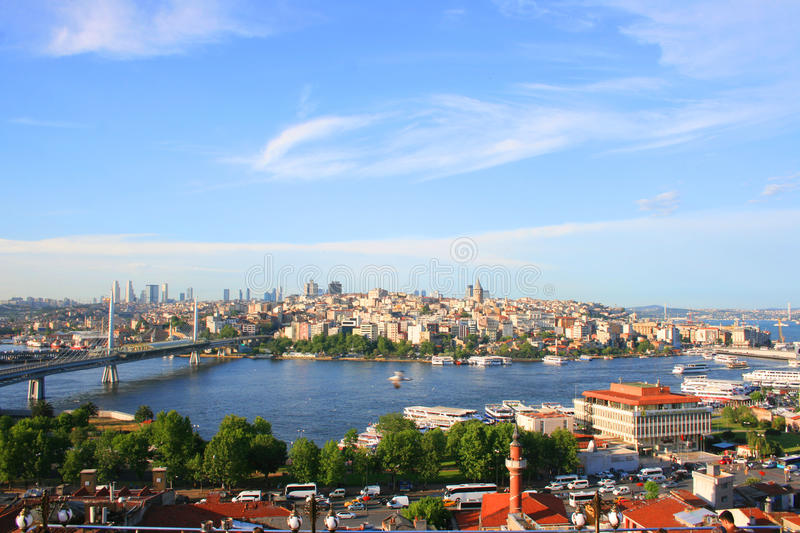 Istanbul the culture capital of Turkey stock photo