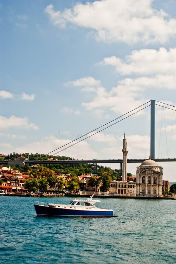 Istanbul du Bosphorus photographie stock libre de droits