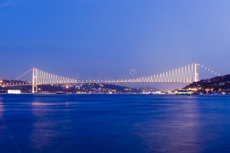 istanbul för bosporus broar kalkon royaltyfria foton
