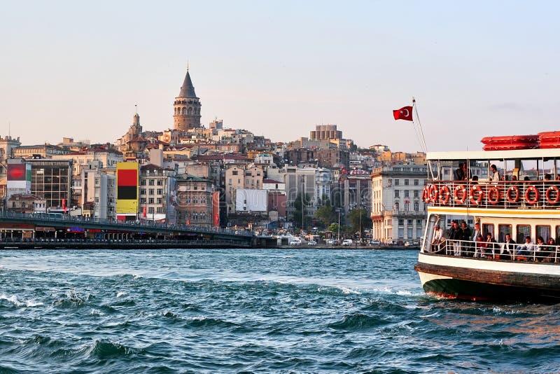 Istanbul, Galata lizenzfreie stockbilder