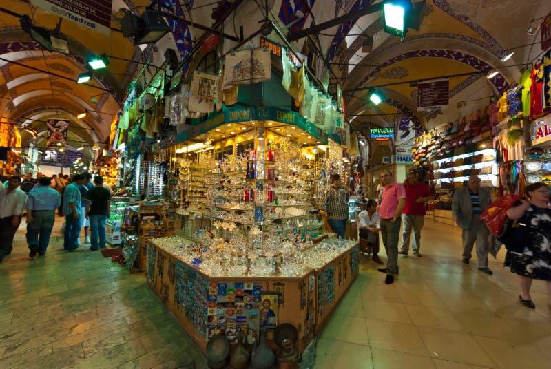 Istanbul-großartiger Basar lizenzfreie stockfotos