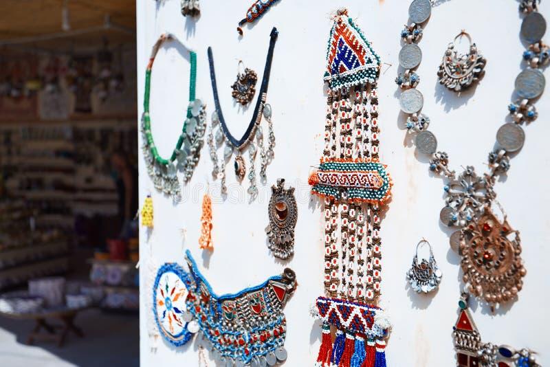 Istanbul-großartiger Basar - Schmucksachesystem stockbilder