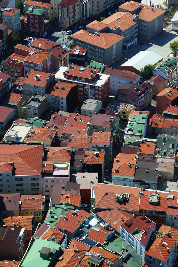 Istanbul houses royalty free stock images