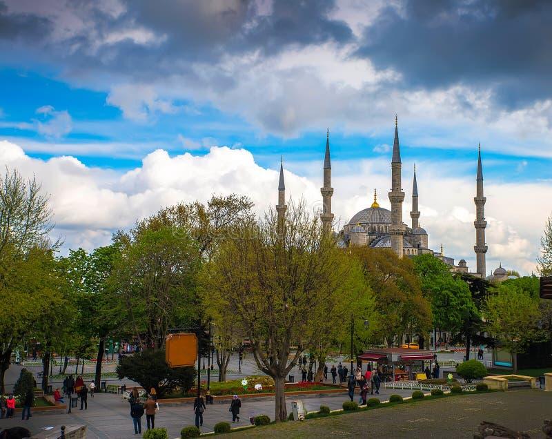 Istanbul huvudstaden av Turkiet royaltyfri fotografi