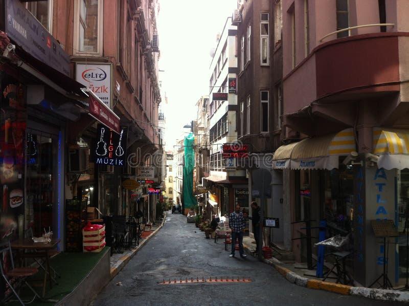 Istanbul im April 2014 stockbild