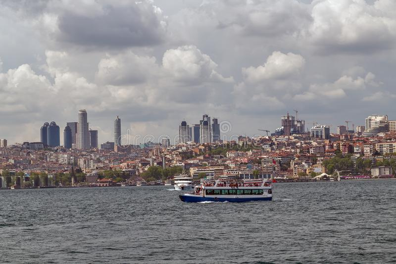 Istanbul-kozyatagi Truthahn lizenzfreies stockbild