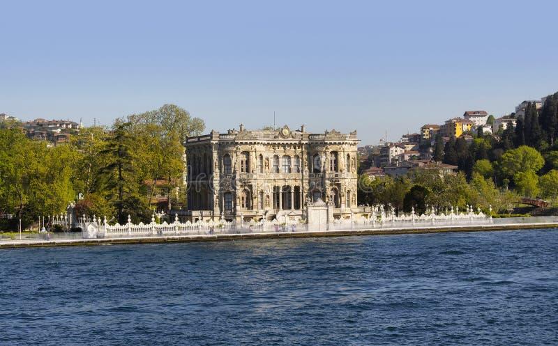 Istanbul. Kucuksu Kasri public mansion on Asian side of Istanbul royalty free stock images