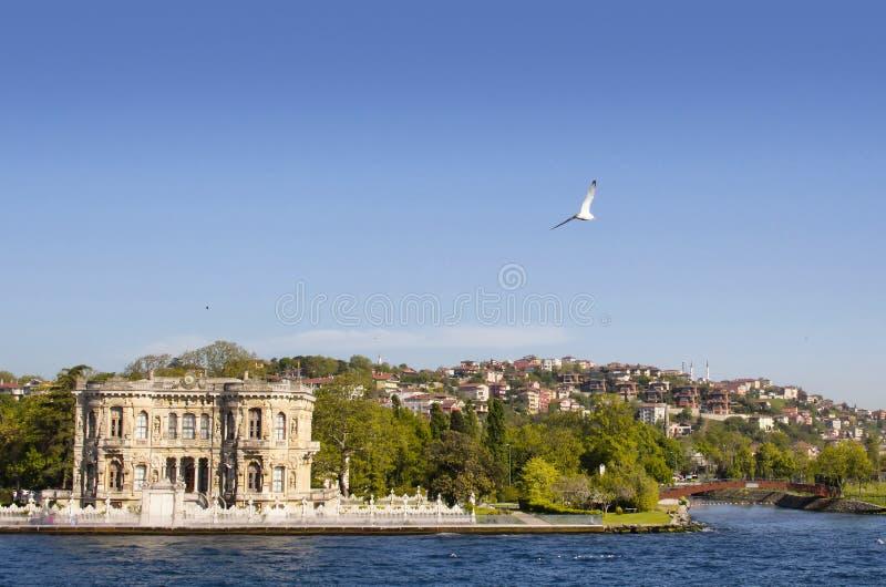 Istanbul. Kucuksu Kasri public mansion on Asian side of Istanbul royalty free stock photos