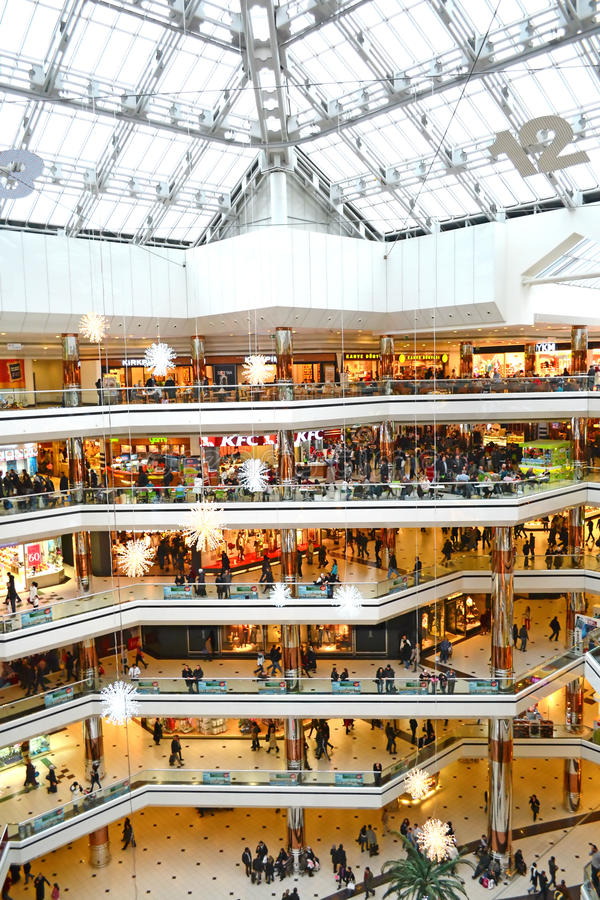 Istanbul Mall Editorial Stock Photo