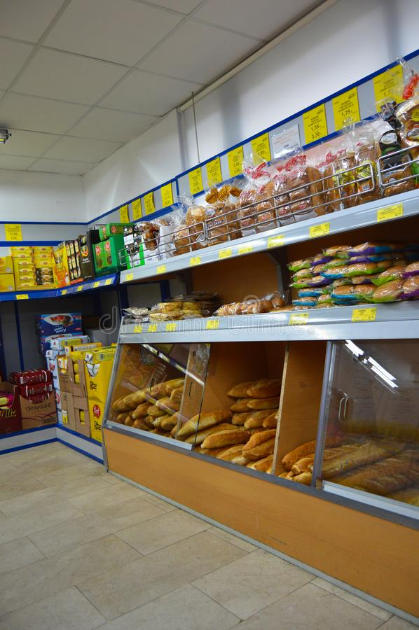 BIM markets chain Istanbul Maltepe. Istanbul Maltepe BIM markets chain, people shopping royalty free stock photography