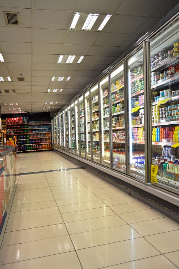 Happy Center super markets chain Istanbul Maltepe. Istanbul Maltepe Happy Center super markets chain, people shopping stock images