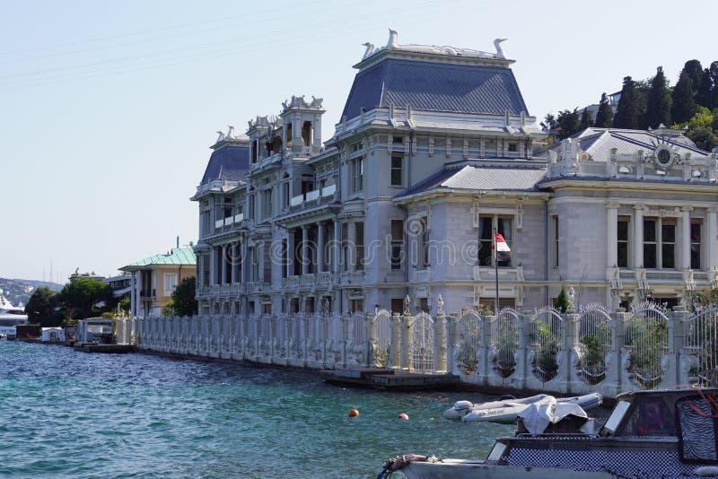 Ä°stanbul, Marmara/Turkey- 10.03.2019 : Egypt Consulate royalty free stock photo