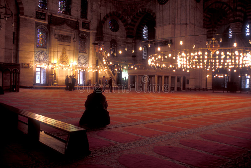 istanbul meczetu fotografia stock