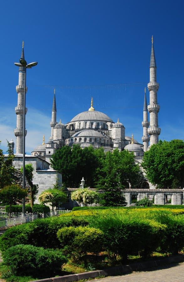istanbul meczetu sultanahmet obraz stock