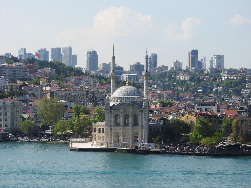 Istanbul moské royaltyfria bilder