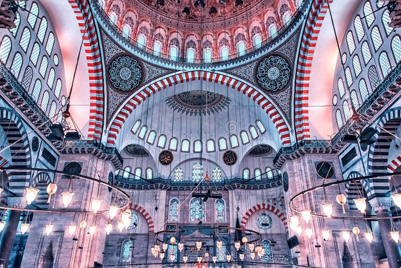 istanbul moskésuleymaniye royaltyfri foto