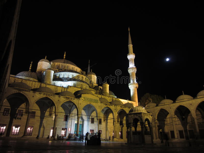 Istanbul mosque royalty free stock photo