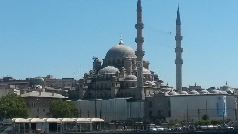 Ä°stanbul Mosques Picture royalty free stock photo