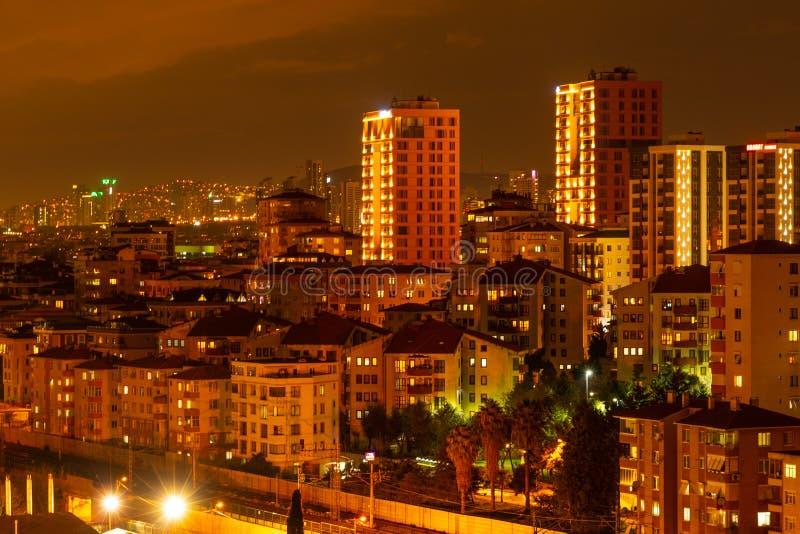Istanbul par nuit photographie stock libre de droits
