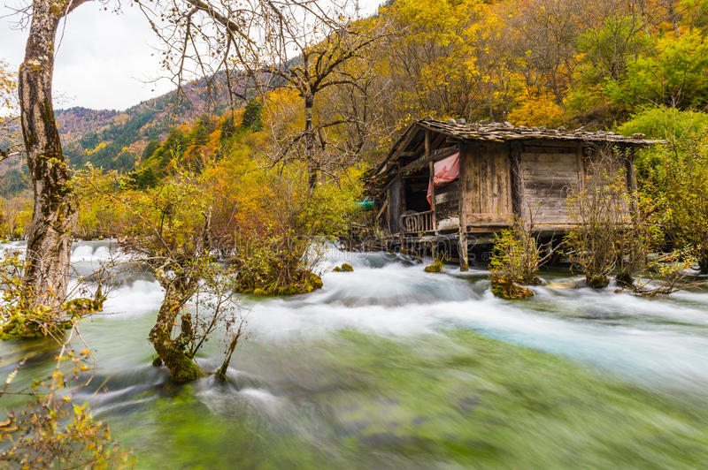 Sichuan Village royalty free stock photography